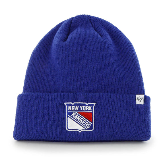 47 Raised Cuff Knit Hat - New York Rangers