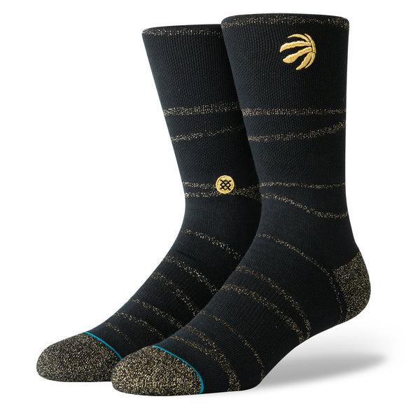 Stance Socks NBA Toronto Raptors Trophy Twist Black
