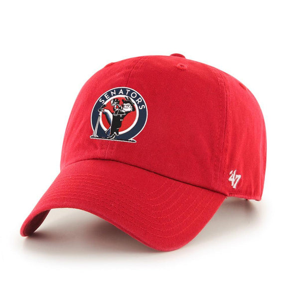 47 Cooperstown Clean Up Washington Senators Hat