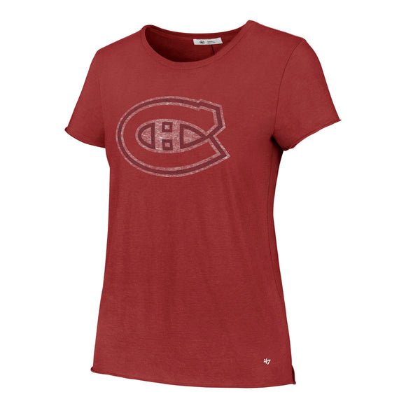 47 Fader Letter Crew Montreal Canadiens Tee (Women's)