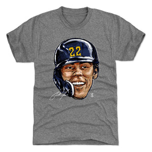 500 Level Christian Yelich Smile T-shirt