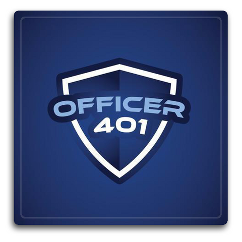 Officer 401 Decal
