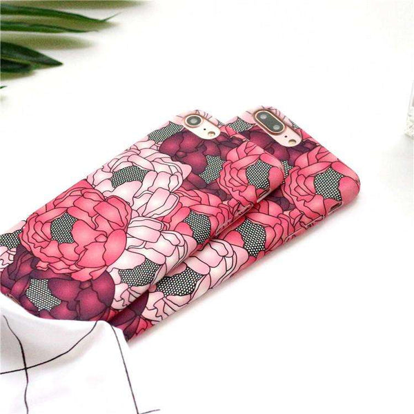 Red Flower Case