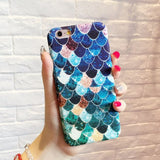 blue mermaid phone case