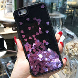 Liquid Love Heart Case