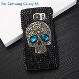 black rhinestone phone case