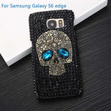 black rhinestone phone cover