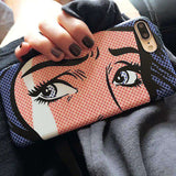 pop art phone case