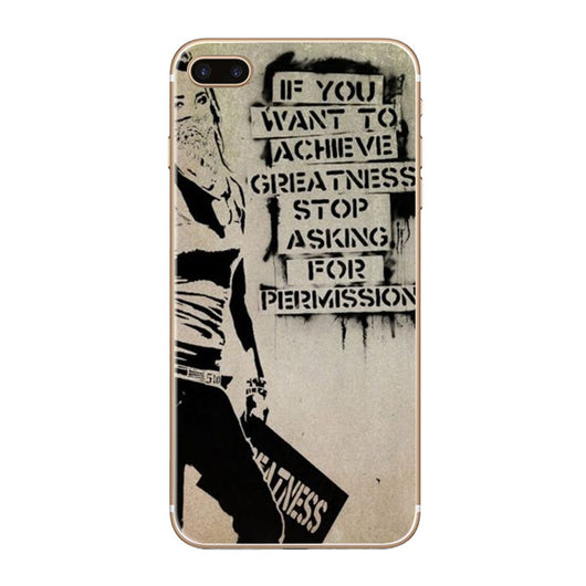Banksy phone case