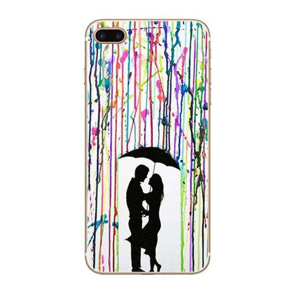 banksy street art phone case