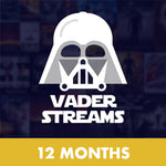 Vader Streams 12 Month Subscription
