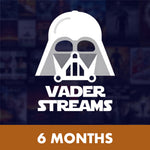 Vader Streams 6 Month Subscription