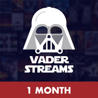 Vader Streams 1 Month Subscription