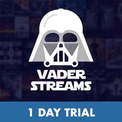 Vader Streams 1 Day Trial