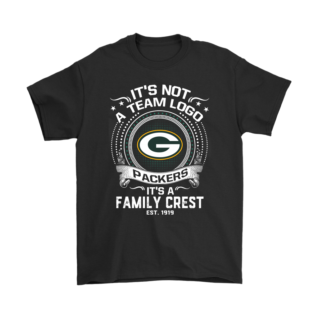 It s Not A Team Logo It s A Family Crest Green Bay Packers Shirts-NFL  Football c1ef8666f