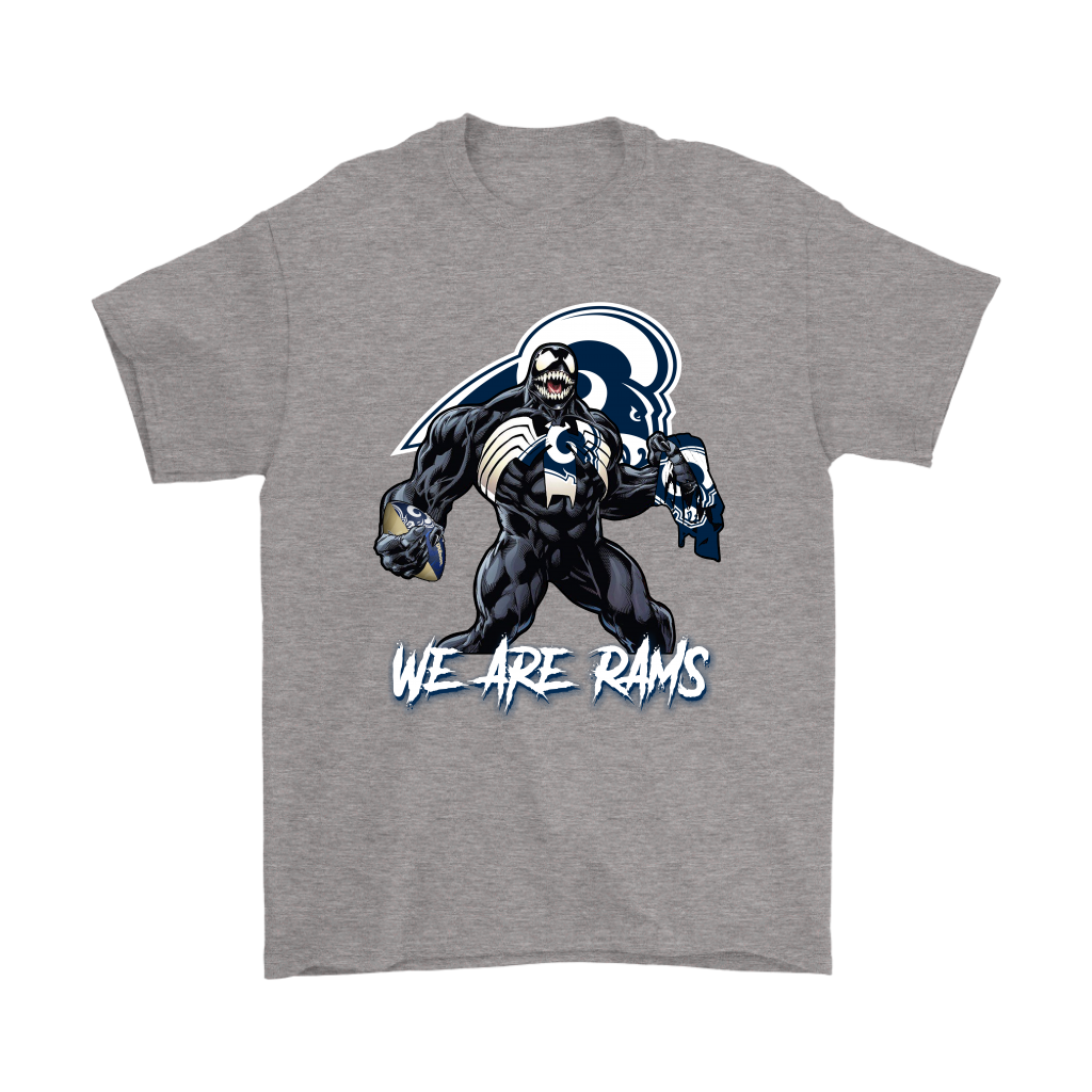 931e4c22 We Are The Rams Venom x Los Angeles Rams NFL Shirts-NFL Football T-