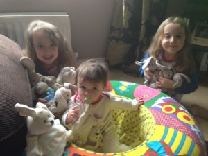 Our latest Stars of the Blog with all 10 of their Sleepytots!