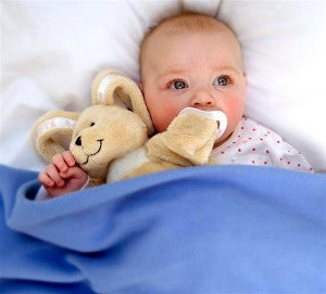 Great tips for introducing the Sleepytot baby comforter to your little one