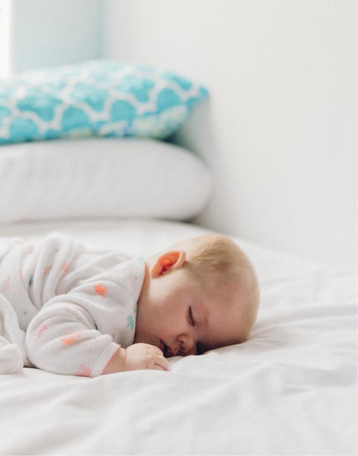 You can use a MAM pacifier with the Sleepytot Baby Comforter