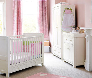 7 Tips for planning your baby's nursery from the Sleepytot Baby Comforter team