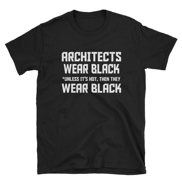 ARCHITECS WEAR BLACK