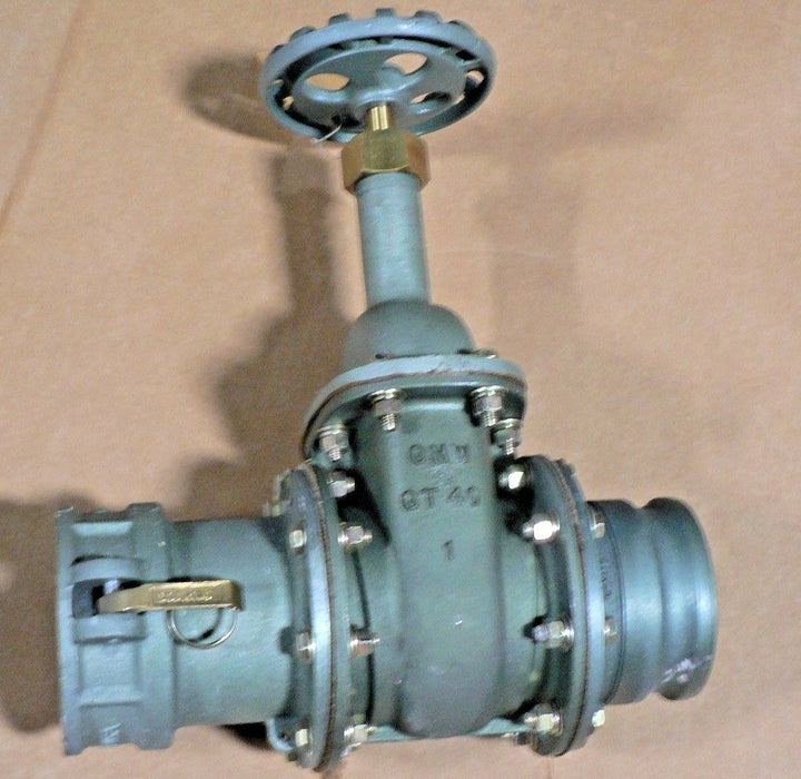 OPW 4 FUEL GATE VALVE 664F4 FACE TO FACE 5.375 COPPER SEAT & STEM MILF43093