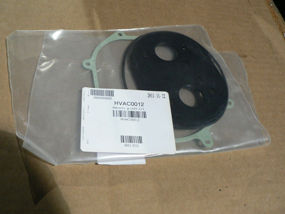 WEBASTO GASKET KIT HVAC0012