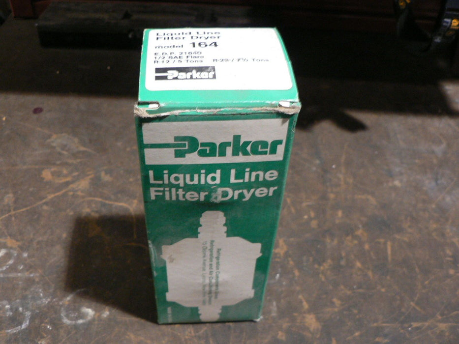 PARKER LIQUID INLINE FILTER DRYER MODEL 164
