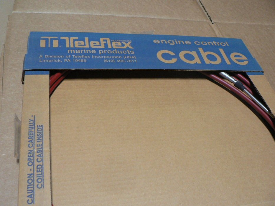 TELEFLEX MARINE push pull cable 19 foot 3 of  travel 032377-003-228, 228 INCHES