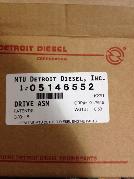 DETROIT DIESEL 149 SERIES ACCESSORY DRIVE group: 1.7600 5146552