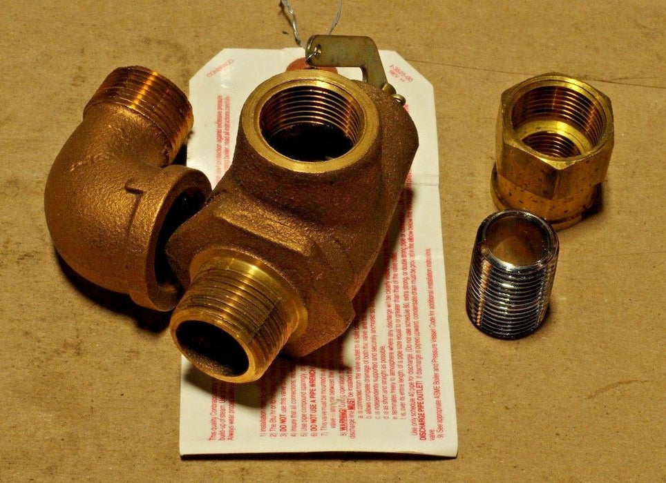 Market Forge Industries 95-3834 Safety Relief Valve
