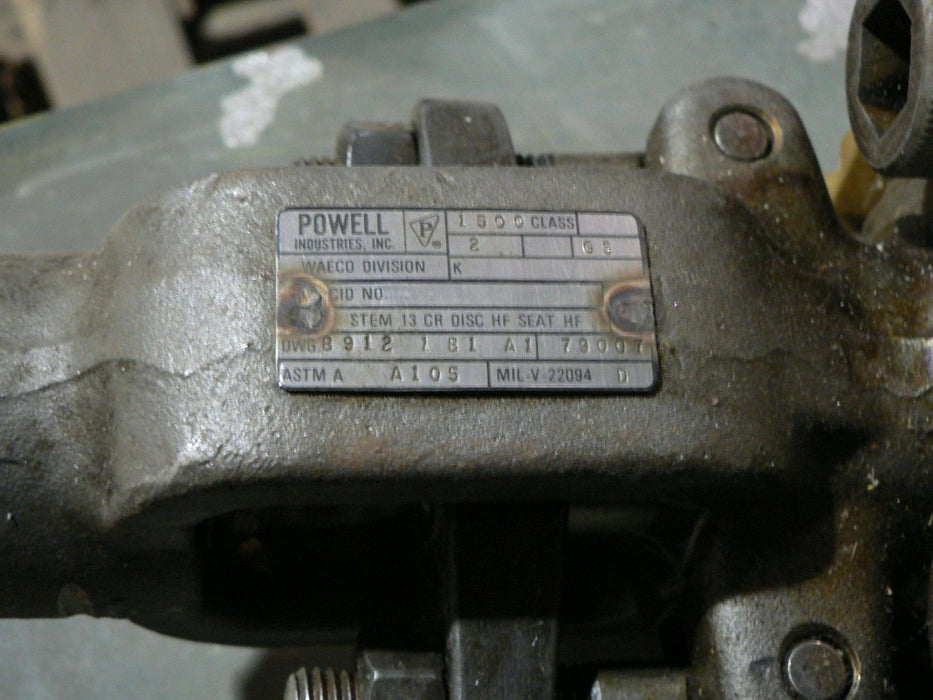 NEWMANS 115CB1 2IN MILWAUKEE 81551-01 2IN GLOBE VALVE 81551-01-2INCID882057717