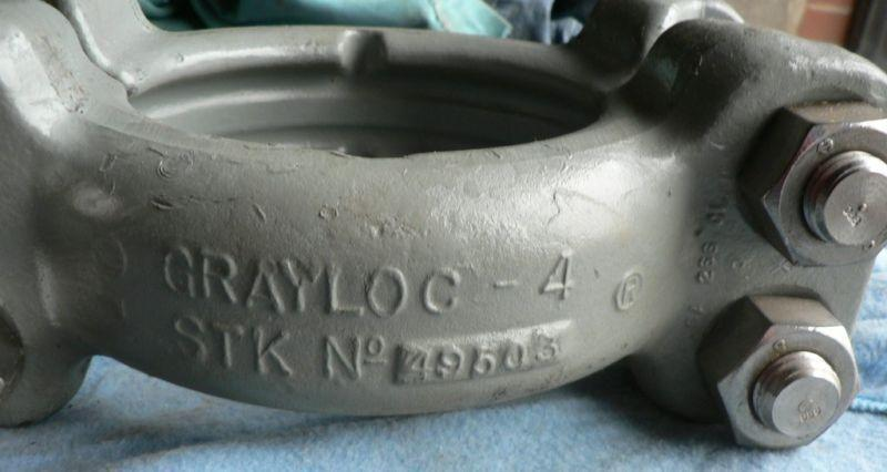 GRAYLOC 4 CLAMP ASSEMBLY SA-266 NO. 09503 BABCOCK & WILCOX 128495E