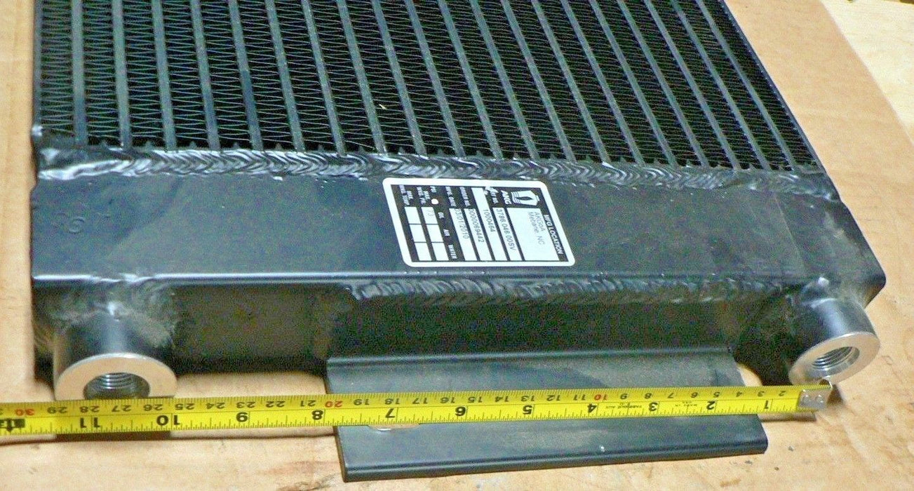 MRAP TRANSMISSION COOLER AKG HEAVY DUTY OIL COOLER 16x13x1-3/4 IN/OUT .6805