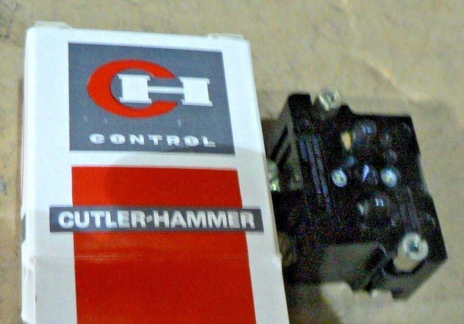 NEW CUTLER HAMMER CONTACT BLOCK 10250T6