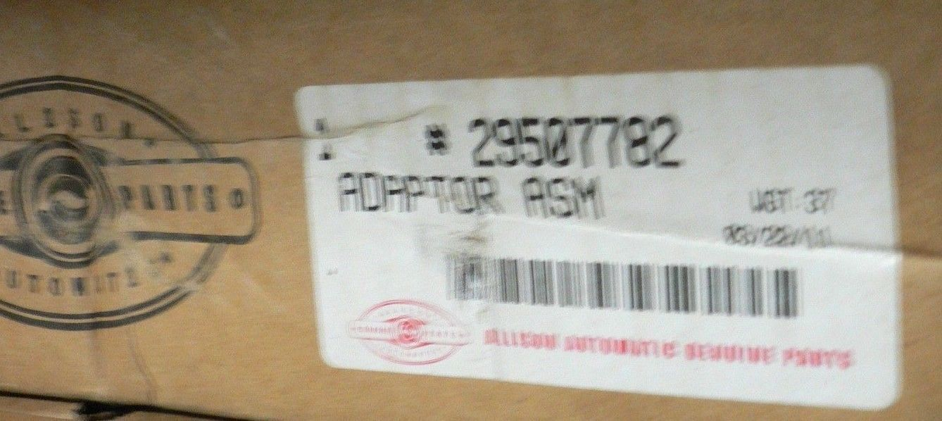 Allison HD4070P ADAPTER ASSEMBLY 29507782