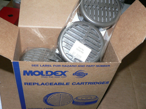(1 case of 5 pair) Moldex 8100 Organix Vapor Cartridges 8000 Series