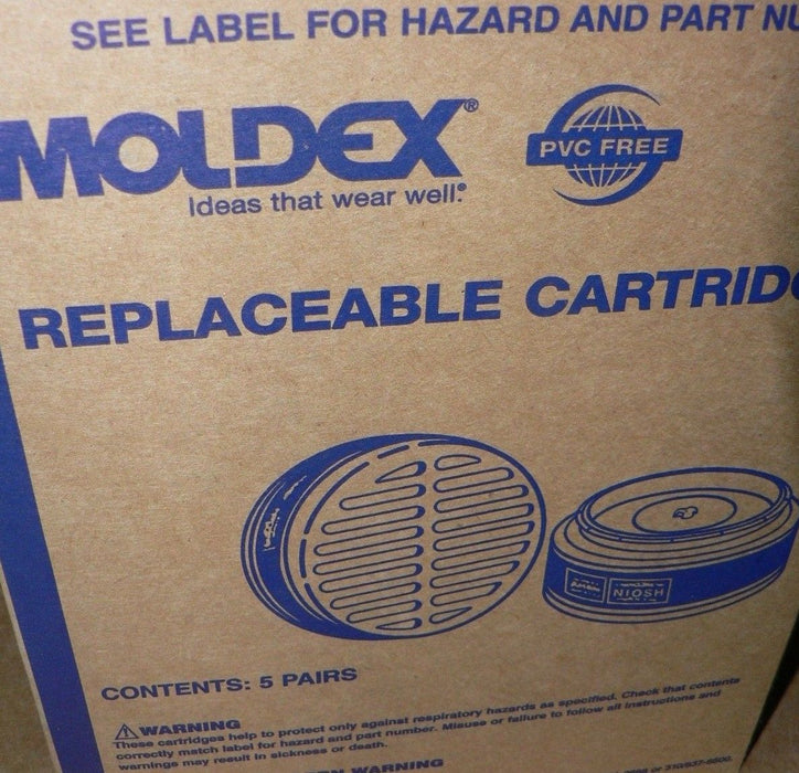 (1 case of 30 pairs) Moldex 8100 Organix Vapor Cartridges 8000 Series