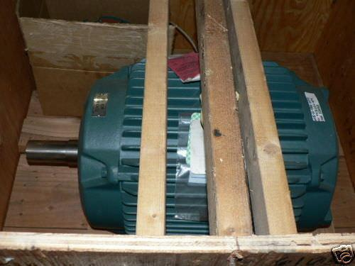RELIANCE ELECTRIC MOTOR 50 HP EXPLOSION PROOF 326T FRAM