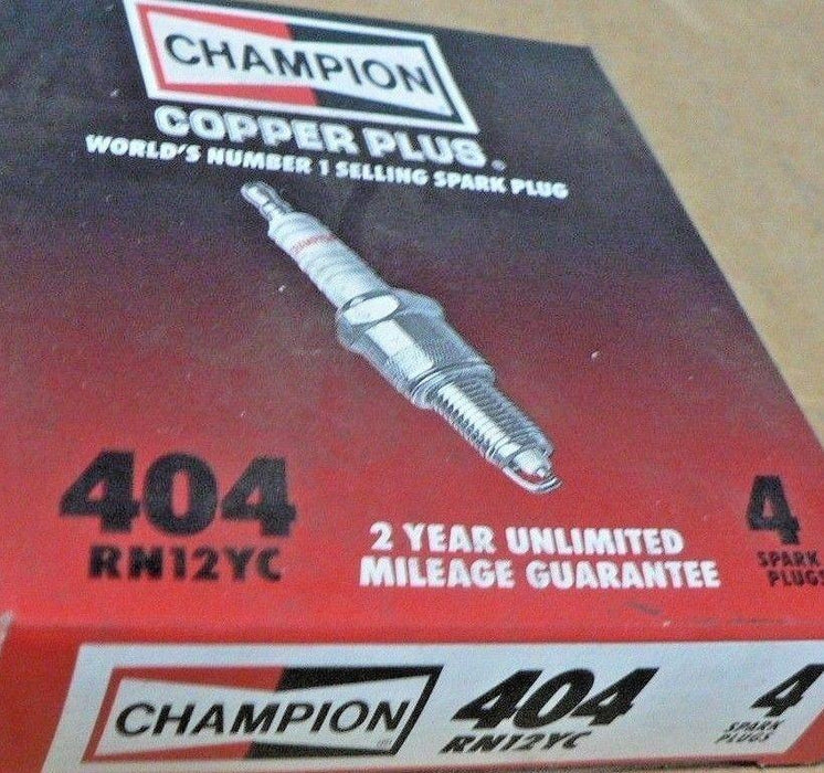 Champion Spark Plugs RN12YC (Lot Of 4)