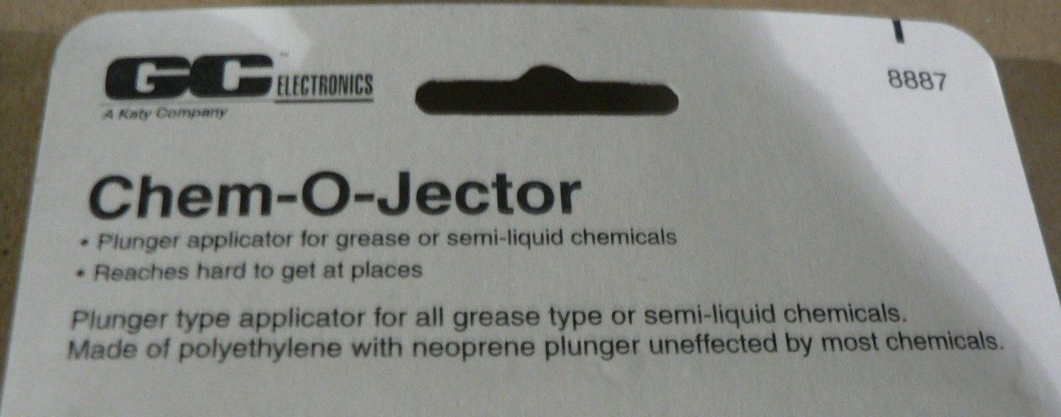 GC CHEM-O-JECTOR 8887