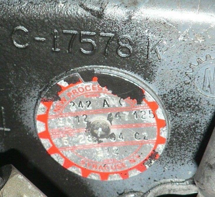 (CORE) AM GENERAL NEW PROCESS Model 242 Transfer Case 12447125 6031727 6005789-A