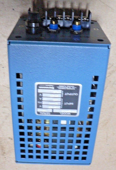 SORENSEN POWER SUPPLY PTM 24-1 6 120VAC IN WITH BOOK 50-440HZ OUT 24VDC