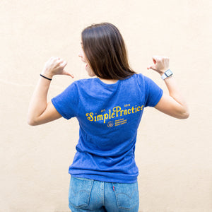 Women's Blue & Gold Tee