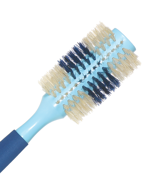 NATURAL BOAR ROUND HAIR BRUSH 2.5""