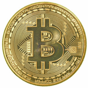 24K Gold Plated Bitcoin (limited edition)