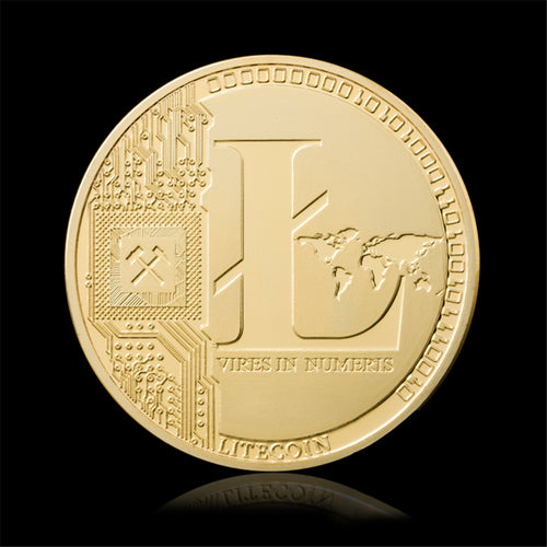 24K Gold Plated Litecoin