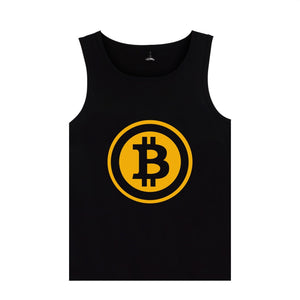 Bitcoin Sleeveless Vest