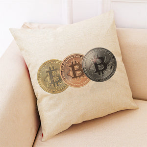 Bitcoin Cushion