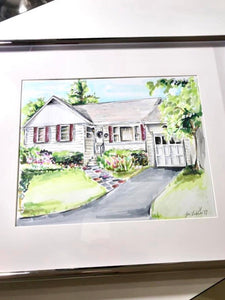 PREMIER Custom Whimsical Home & Landscape Illustration (Starting at $450+)